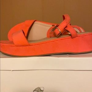 NEW | Old Navy Wedges peach pink color